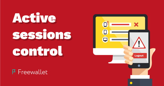 Active sessions control