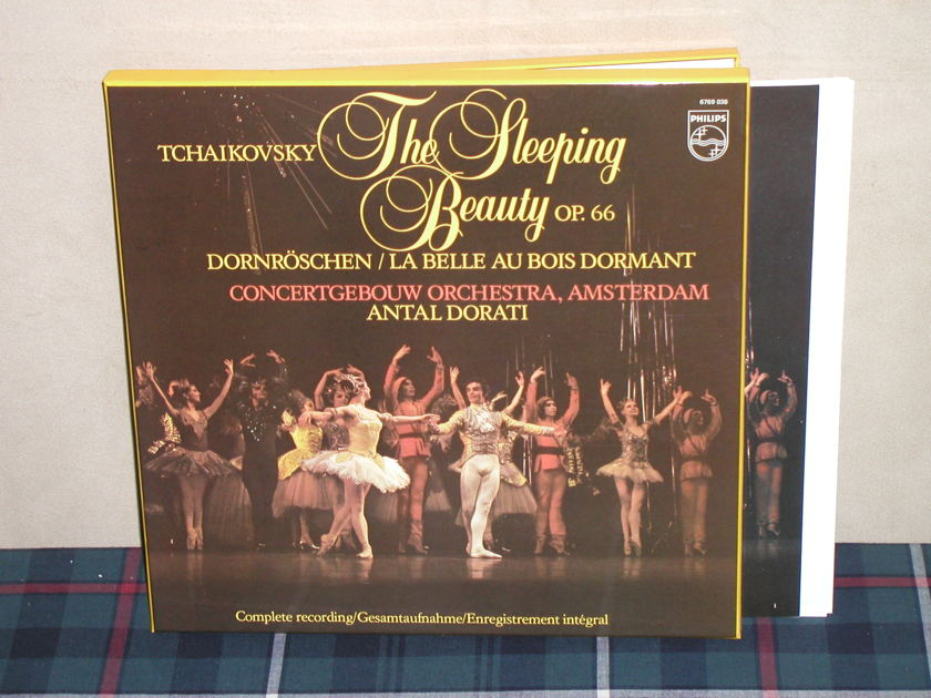 Dorati/COA   Tchaikovsky - The Sleeping Beauty (Complete) Philips Import Pressing 6769