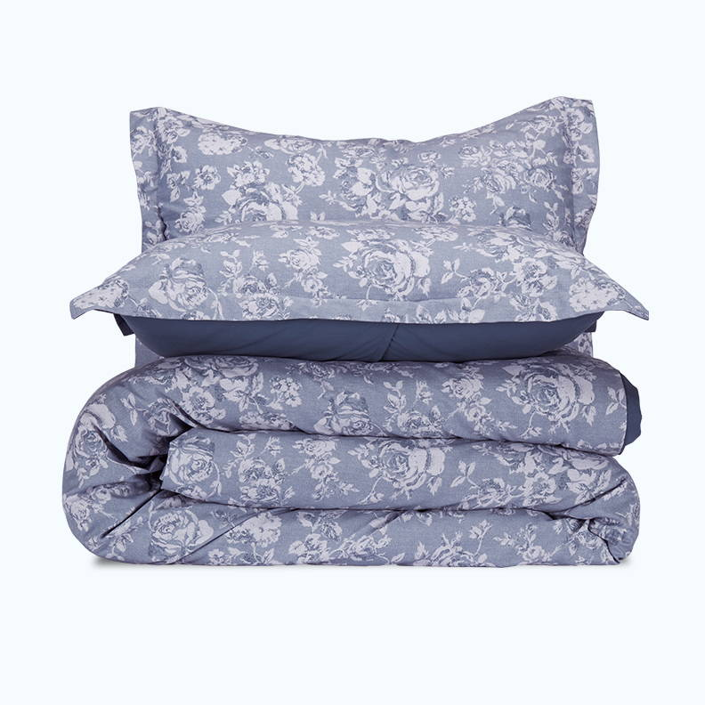 sleep zone bedding website store products collections cottonnest printed cotton duvet cover blue