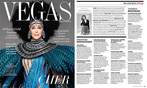 Vegas magazine - Mademoiselle Provence