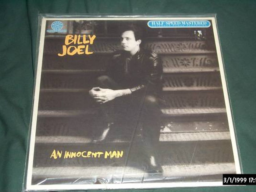 Billy joel - An Innocent Man mastersound audiophile lp nm