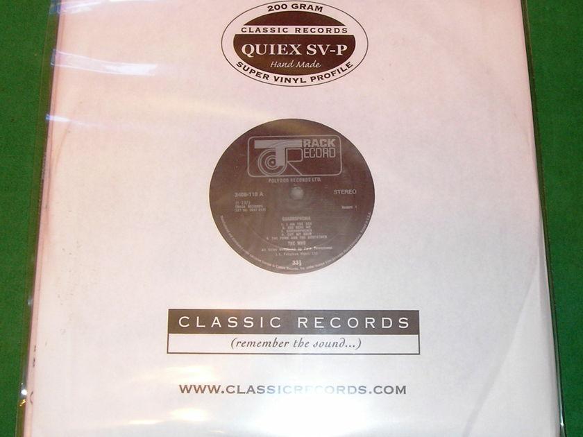 THE WHO - QUADROPHENIA - * CLASSIC RECORDS 200 GRAM PRESS * 2 x 200 GRAM - NM 9/10