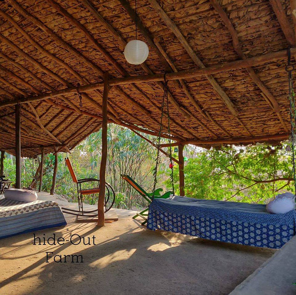 cottage at hideout farm situated near Pune