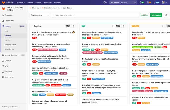 GitLab vs Gitea detailed comparison as of 2019 - Slant