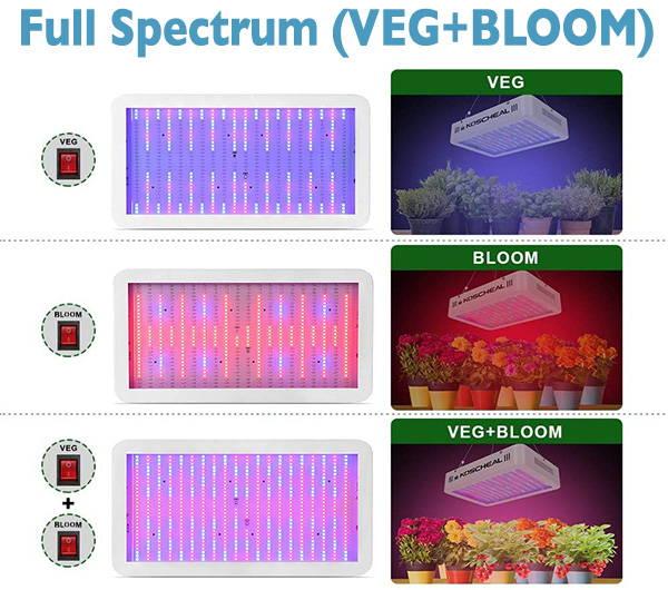 How it works for fruits, seeling, flowering,  vegetables