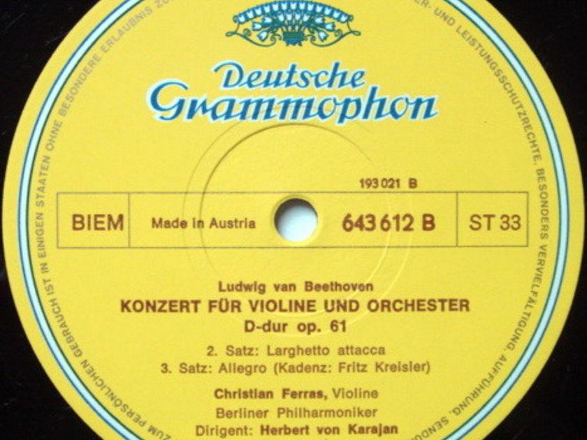 DG / Beethoven Edition, - Complete Violin & Piano Concertos, NM, 6LP Box Set!