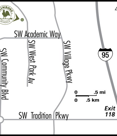 map of school location