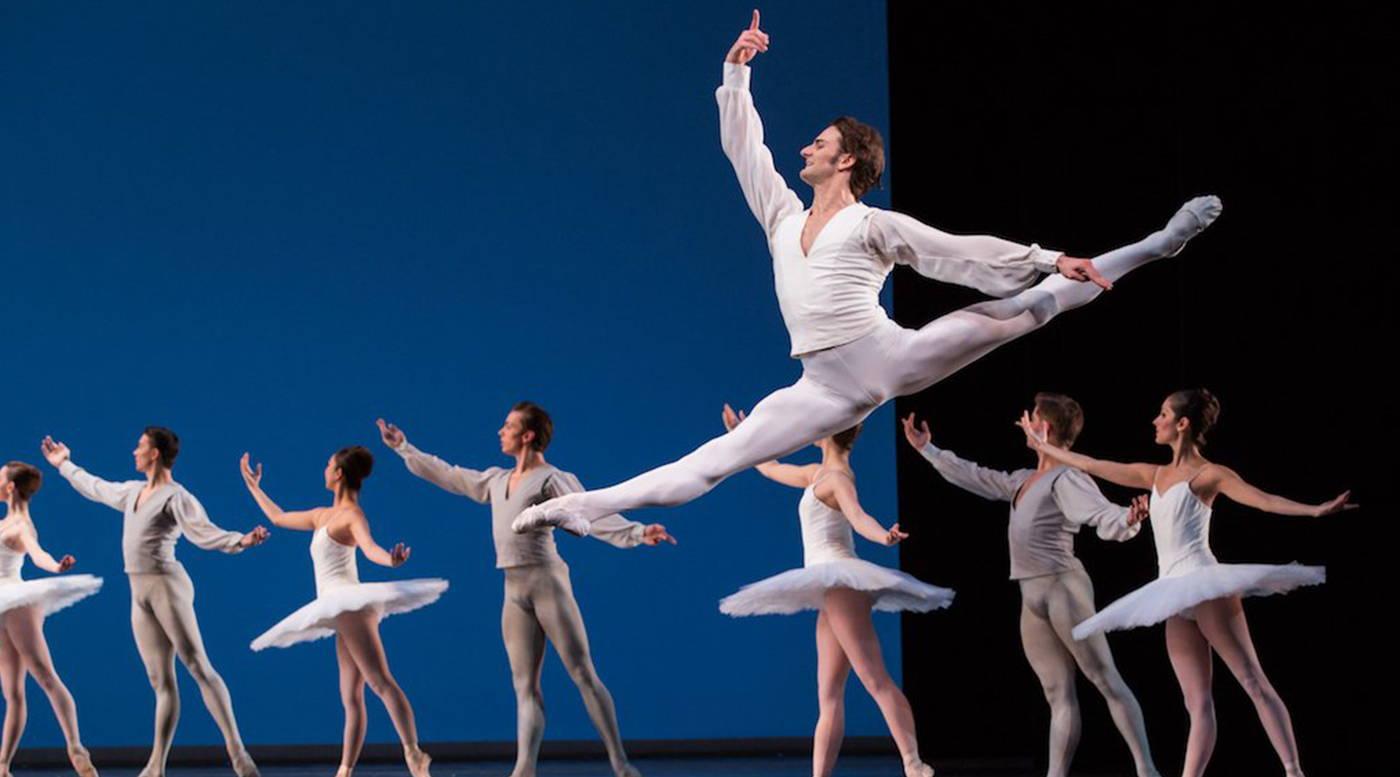 aaron robison, lead principal dancer with english national ballet