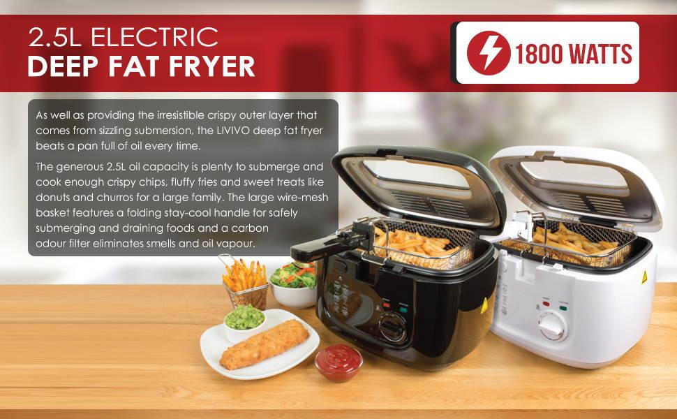 2.5L Electric Deep Fat Fryer