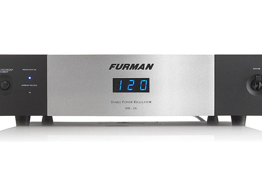 Furman SPR-20I 20-amp power conditioner/surge protector/voltage regulator