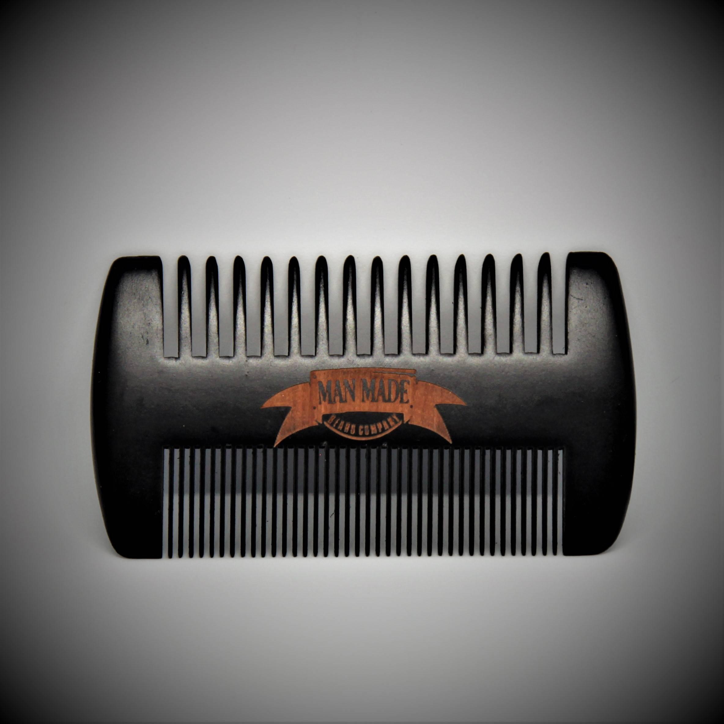 Man Made Beard Company - Double-Sided Wide-Tooth Beard Comb