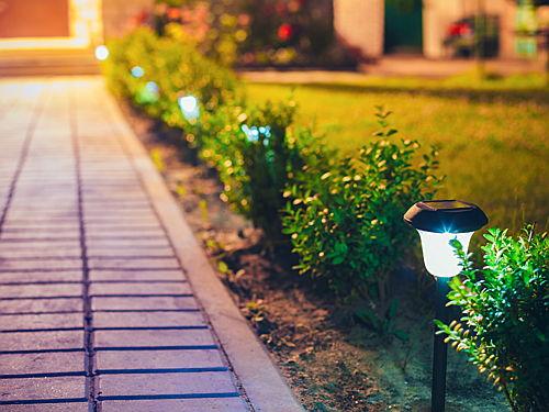 Solar Ed Garden Lights 6 Bright