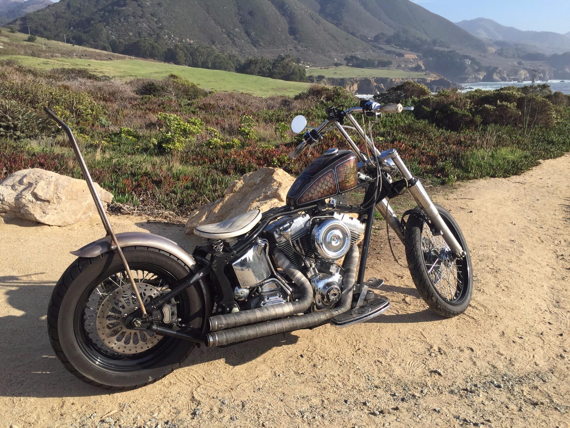 Harley Davidson San Francisco >> Harley Davidson Softail Slim Fls For Rent Near San Francisco Ca