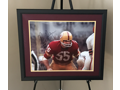 Chris Hanburger Autographed and Framed Photo