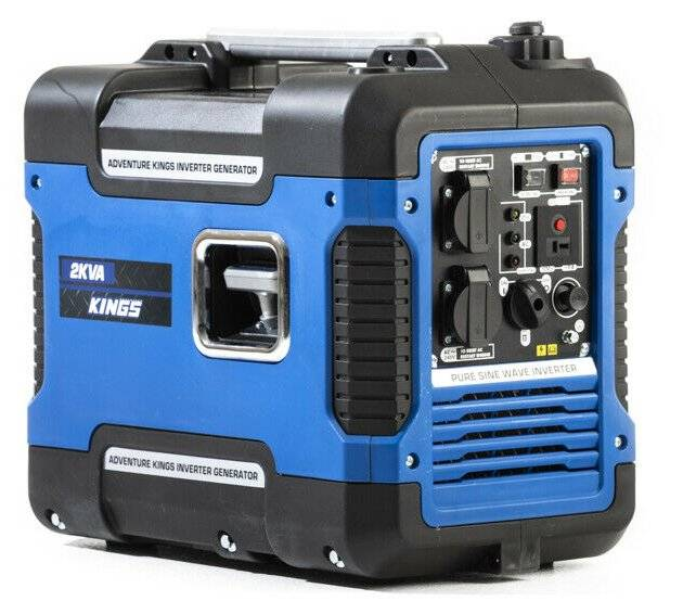 2KVA Adventure Kings Outdoor Camping Outback Quiet Reliable Inverter Generator