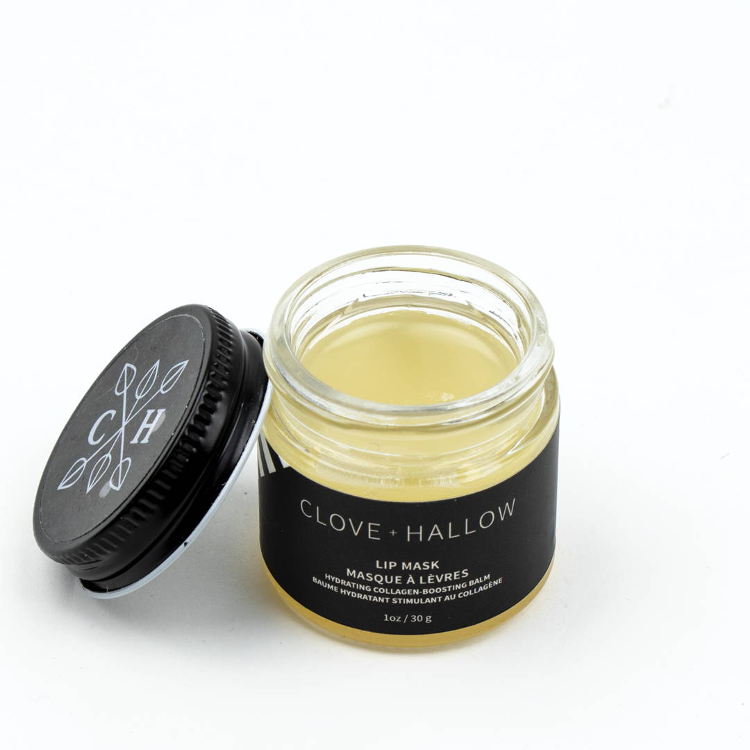 clove and hallow lip mask