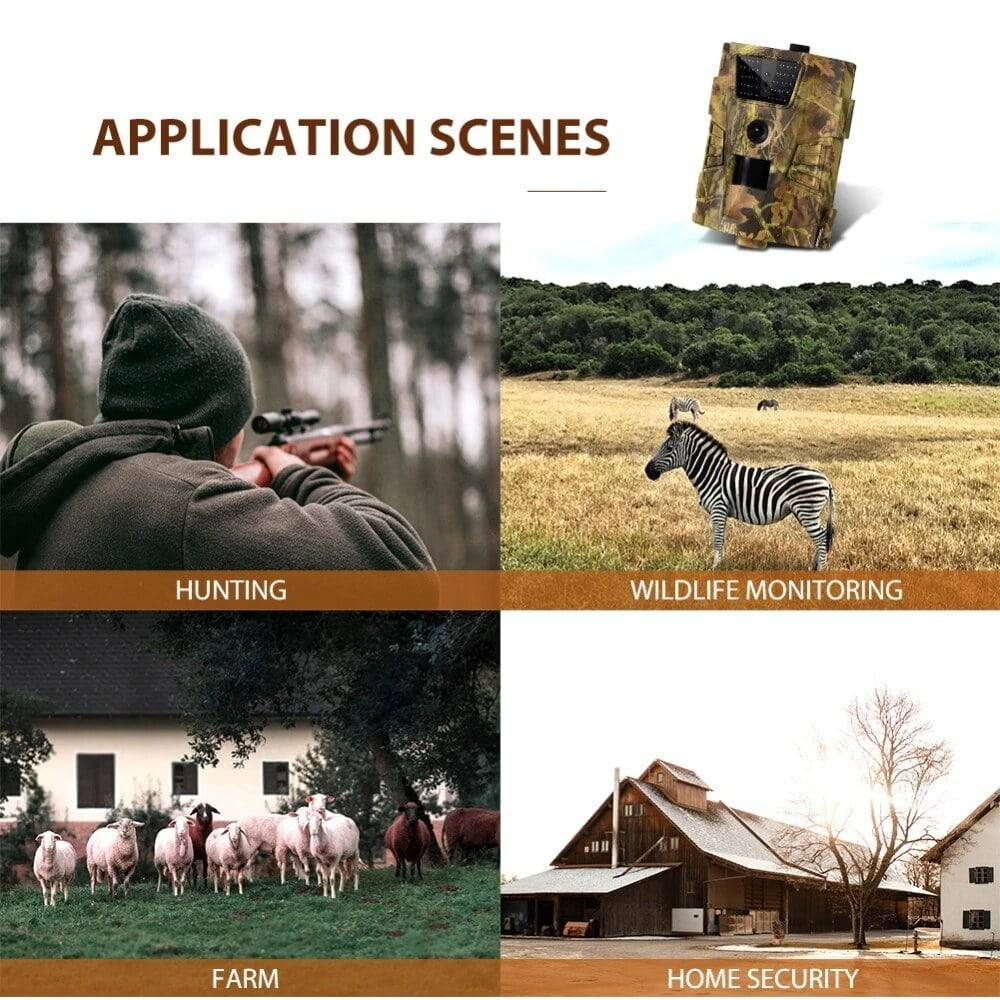 Trail camera for hunting monitoring farm  home security