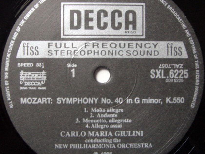 ★Audiophile 180g★ DECCA-Speakers Corner / GIULINI, - Mozart Symphony No.40 & 41 Jupiter, MINT(OOP)!