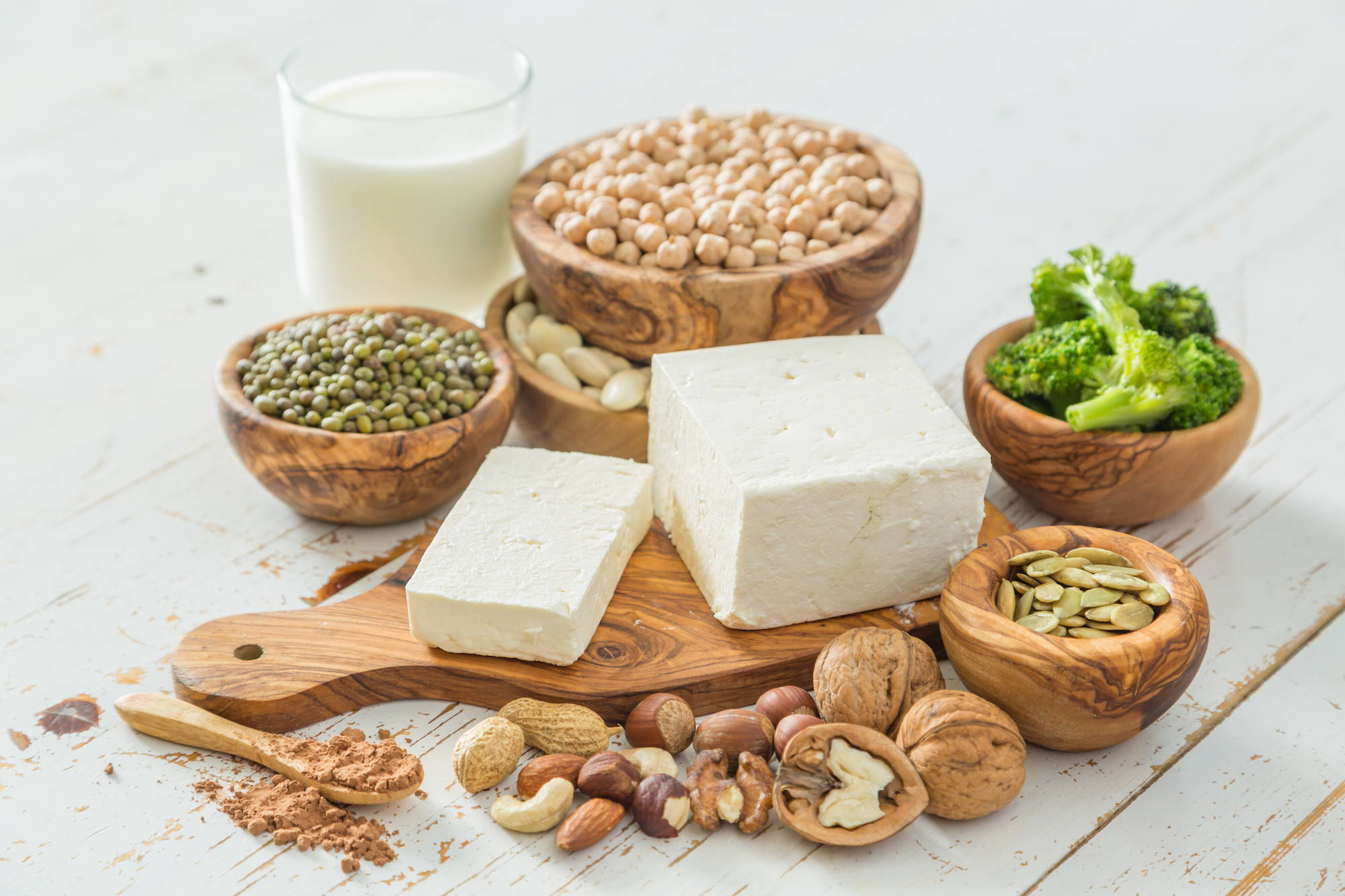 Tofu is a source of tyrosine to support an underactive thyroid