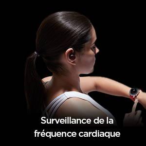 Amazfit Powerbuds - Notifications en temps réel lorsque votre fréquence cardiaque est trop élevée