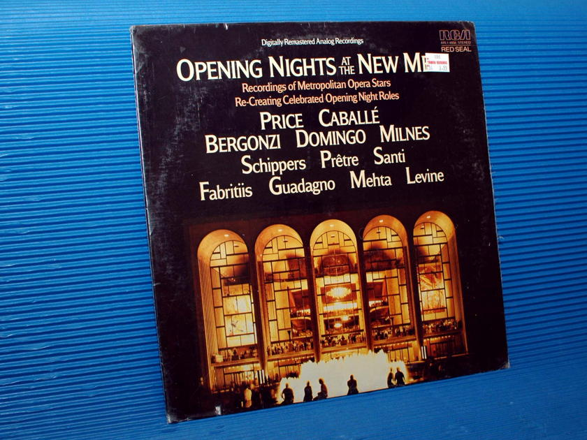 """OPENING NIGHTS AT THE NEW MET""   - Various Performers -  RCA Red Seal 1983 SEALED"