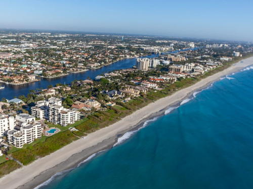 skyview of Delray Beach