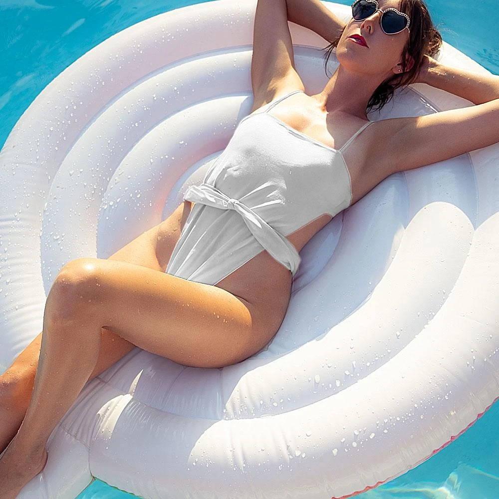 Flight To Santorini One Piece Swimsuit