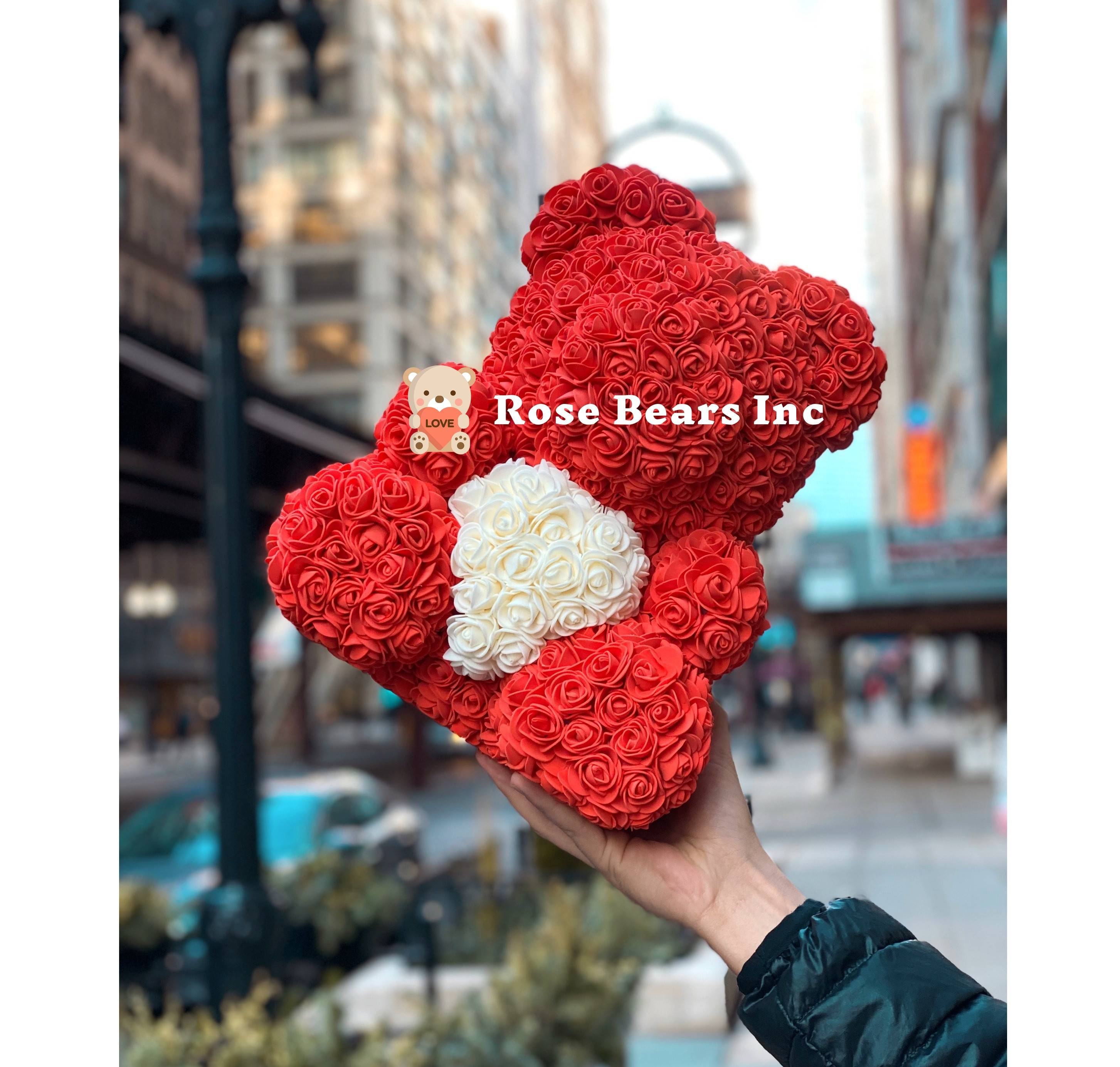 gifts for her under $100, perfect gifts for her valentines, rose bear valentines day,best gifts for valentine's day