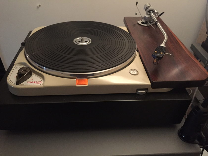 Thorens TD-124 w/SME 3012 and Ortofon SPU Royal N cartridge