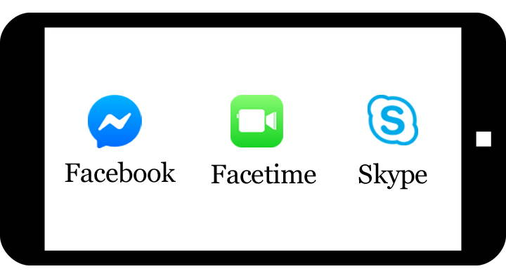 Facebook skype virtual dating appointments icon