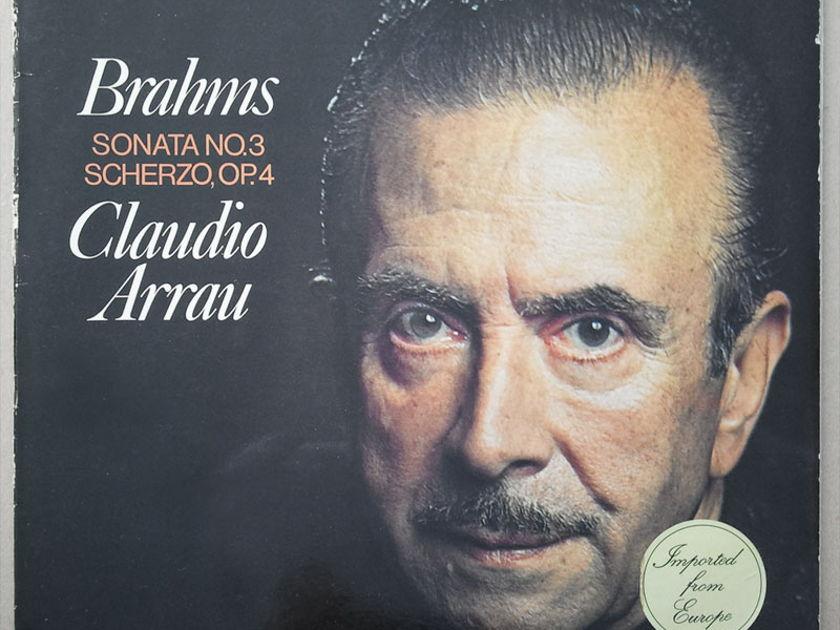 PHILIPS | ARRAU/BRAHMS - Sonata No. 3, Scherzo Op. 4 / EX