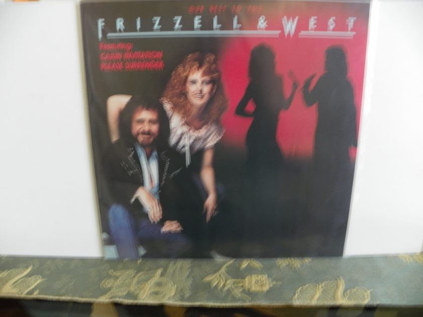FRIZZEL & WEST - OUR BEST TO YOU NM Pressing