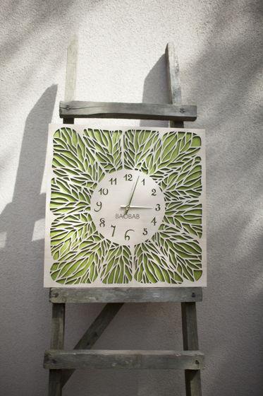 """Настенные часы из дерева """"Leaves"""""""