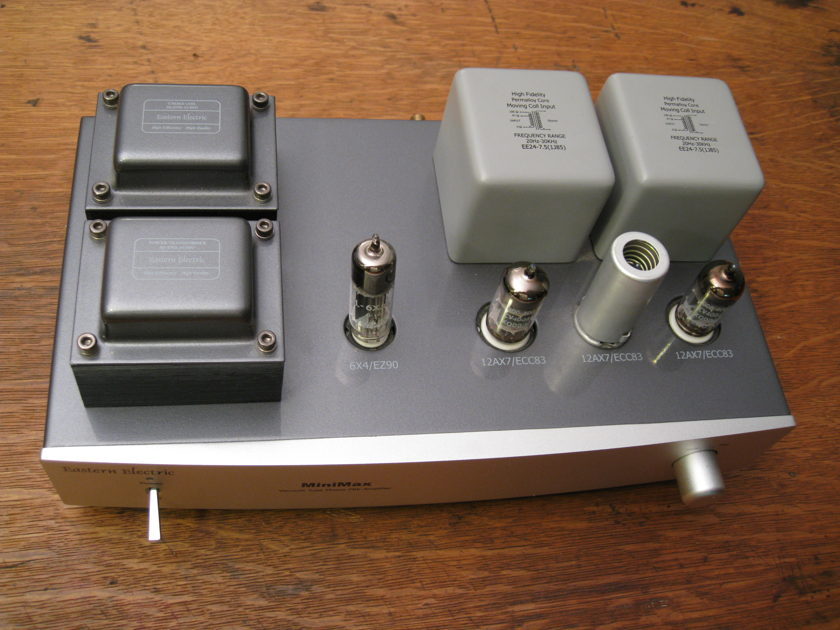 Eastern Electric Minimax PHONO Well reviewed. Priced for Quick Sale MM or MC at the flick of a switch!