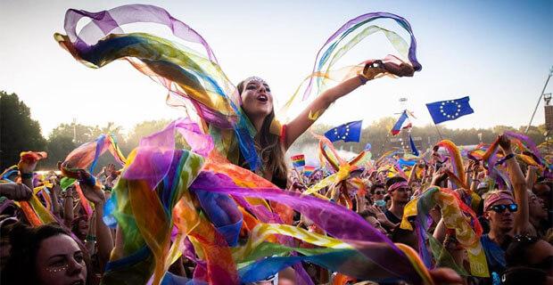 Екатеринбуржцы побывали на фестивале Sziget в Будапеште - Новости радио OnAir.ru