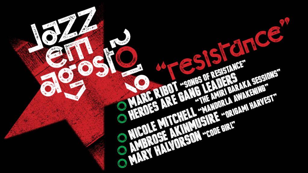 Jazz em Agosto 2019 lineup