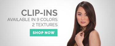 Clip-ins available in 9 colors, 2 textures!