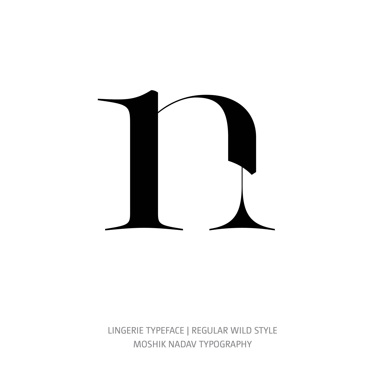 Lingerie Typeface Regular Wild n