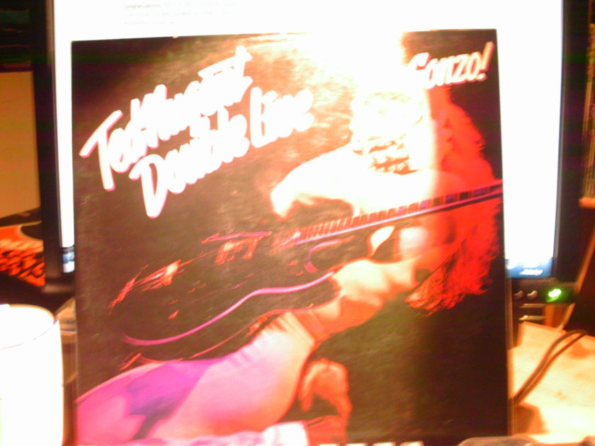 TED NUGENT - DOUBLE LIVE GONZO! 2 LP SET LIVE