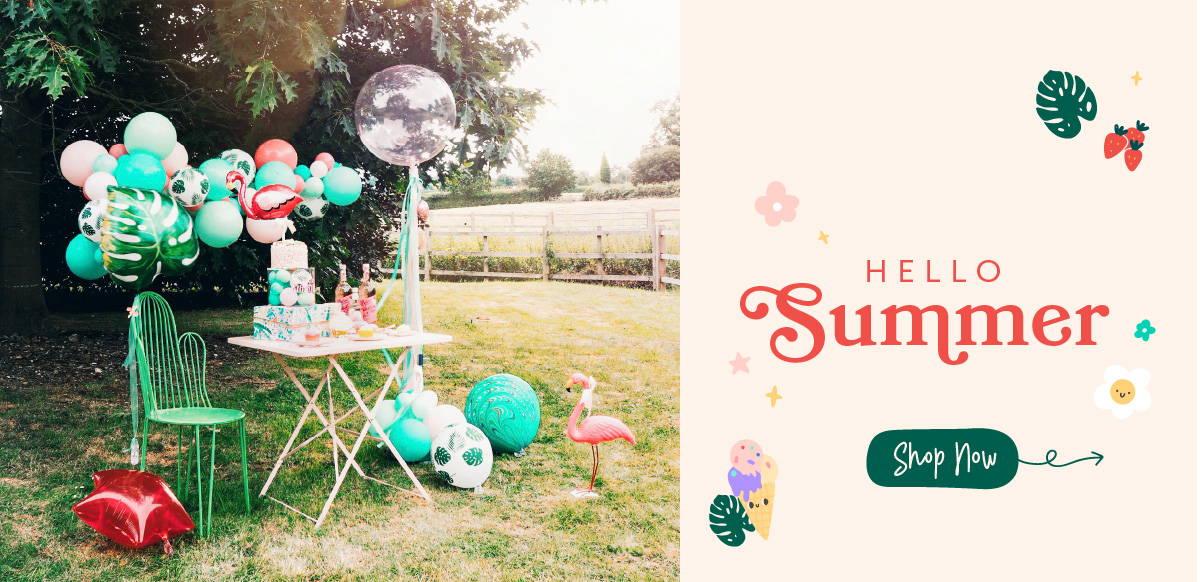 Hello Party Modern Stylish & Luxury Party Supplies Custom Balloon Cloud Garland Arch DIY Kit