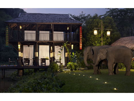Three Nights and Elephant Experiences in Thailand