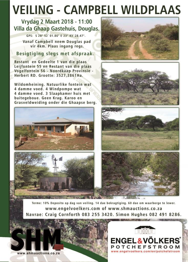 Potchefstroom - Game Farm On Auction