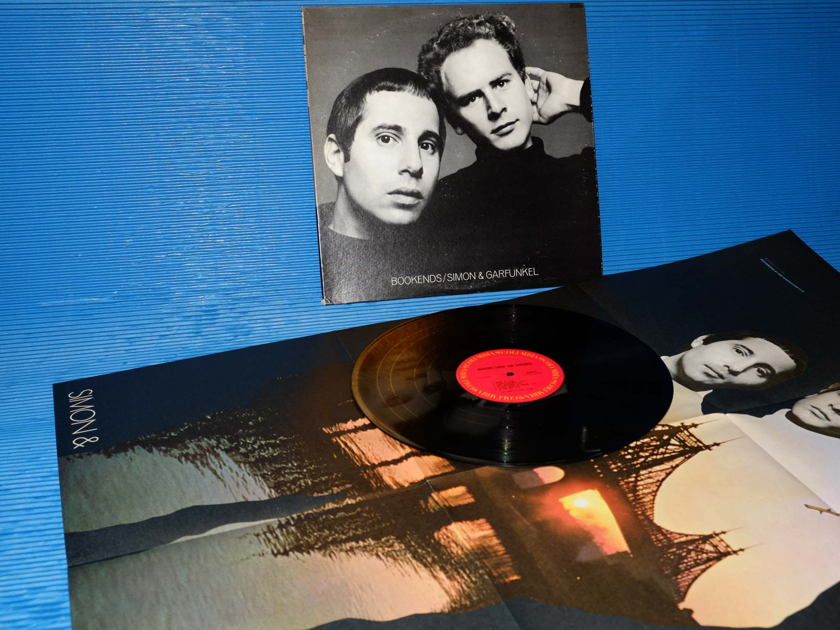 "SIMON AND GARFUNKEL   - ""Bookends"" -  Columbia 1977 with original Poster"