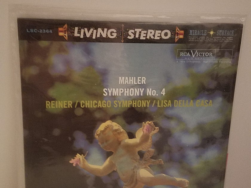RCA LSC 2364 Reiner Chicago Symphony Orch - Mahler Symphony No.4  Classic Records - Still Sealed