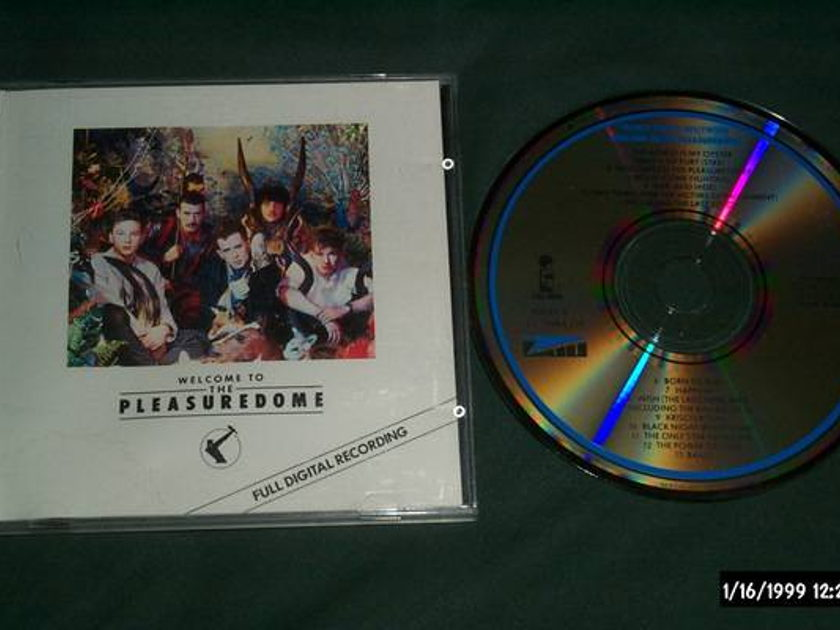 Frankie Goes To - Hollywood welcome to pleasure japan cd