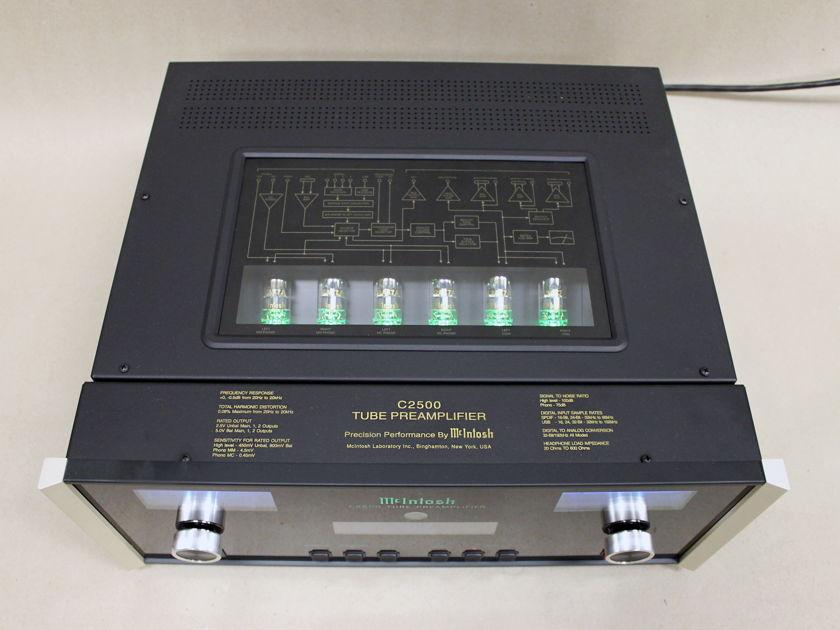 McIntosh C2500 Tube Preamplifier, Open Box w/Warranty