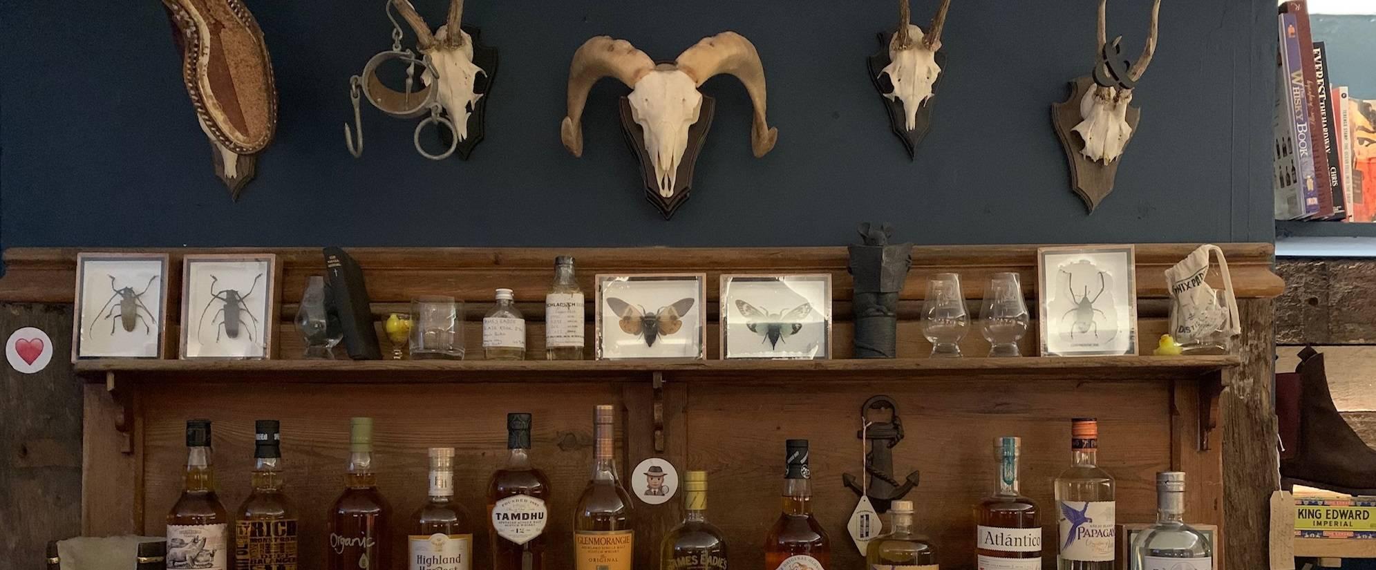 Biodynamic Wine, organic whiskey, single malt, gin, rum and beer