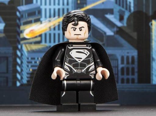 lego Black Suit Superman