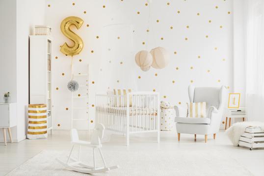 Elegante Einrichtung für das Kinderzimmer