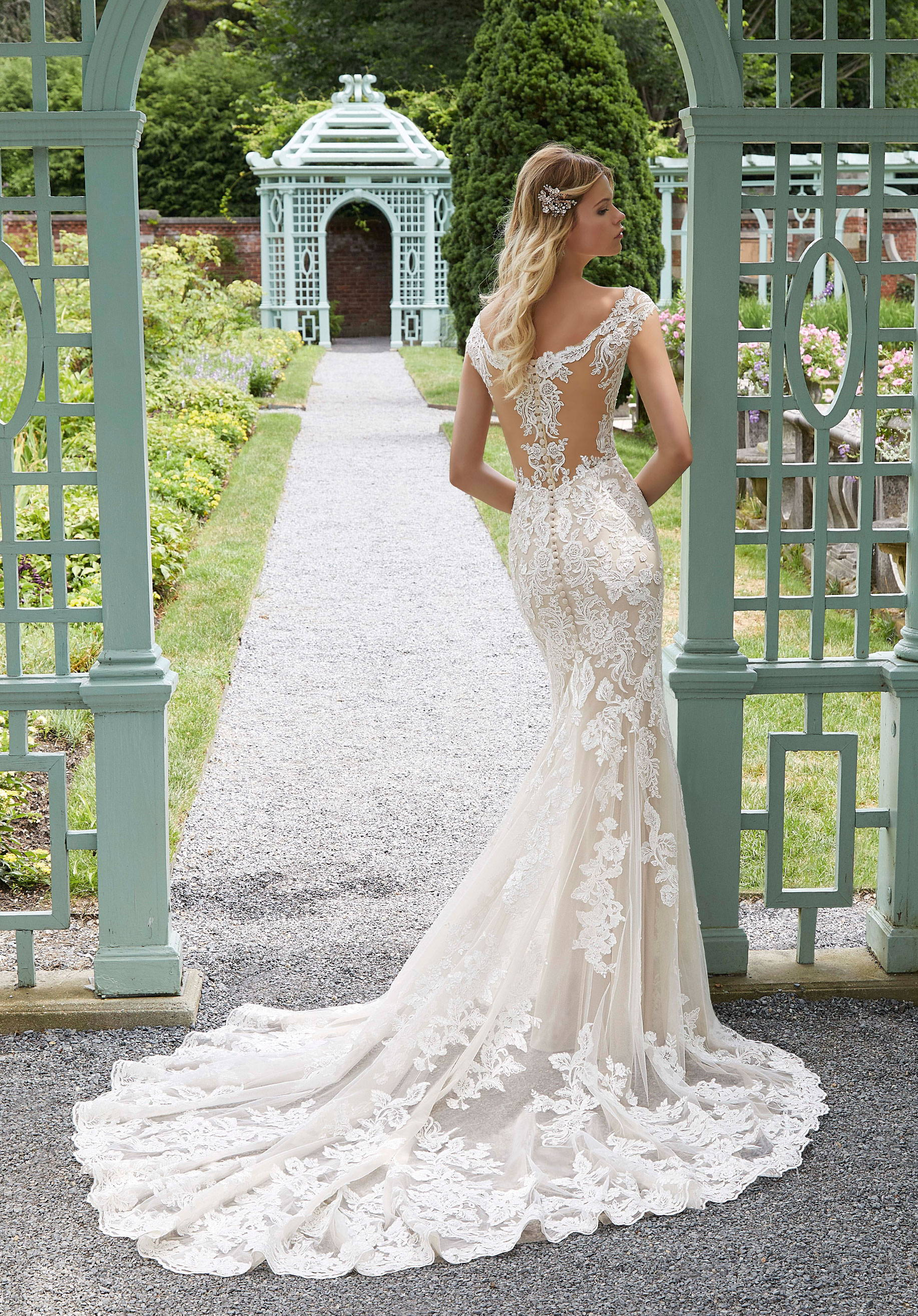 MORI LEE 2028  WEDDING DRESS
